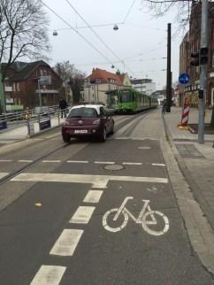 PlatzDa! für den Radverkehr am Hochbahnsteig