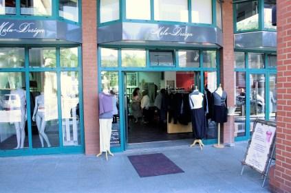 Die Mäla-Boutique in der Altstadt.