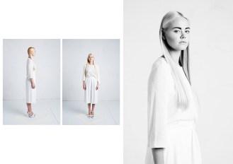 Ganz in Weiß: Vit Bomma setzt ganz auf die Nicht-Farbe.