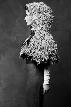 Post-Grunge-Look à la Miriam Piechowiak.