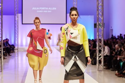 Fashion Candy von Julia Portia Allen, die den 3. Preis der Talent Awards abräumen konnte.