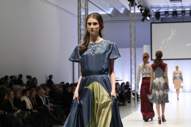 Model Paula Grafenhorst lief für X Sprengel und ist auch erstes Kampagnengesicht des Labels.