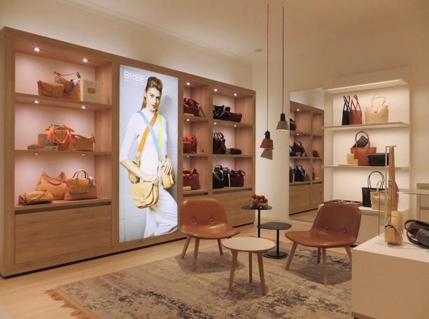 Mehr Lounge-Charakter: Blick auf das neue Ladenbaukonzept von BREE.