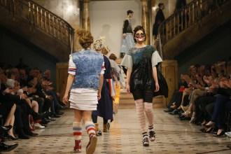 Anna Bornholds Defilee beim Euro Fashion Award 2016
