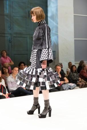 Kleid von Katharina Brüggemann, 5. Semester.