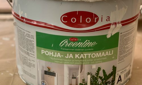 Coloria Greenline ekologinen maali