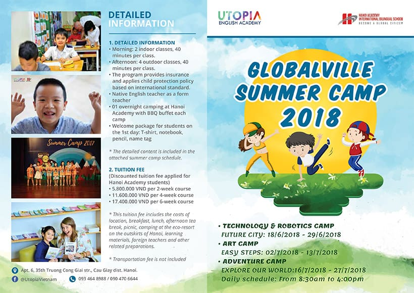 Globalville summer camp 2018