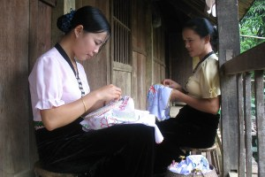 White Thai People in Mai Chau