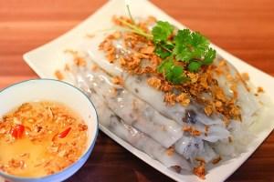 Bánh Cuốn (Steamed Rice Rolls)