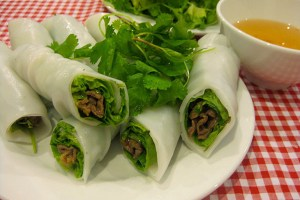 Phở Cuốn (Rolls noodle)