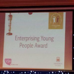 Enterprising Young People Award!