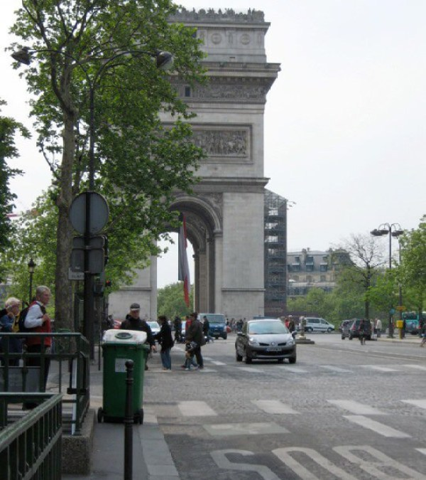 The Arc du Triomphe, Paris
