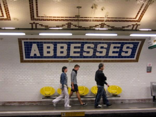 Abbesses Metro Station, Paris