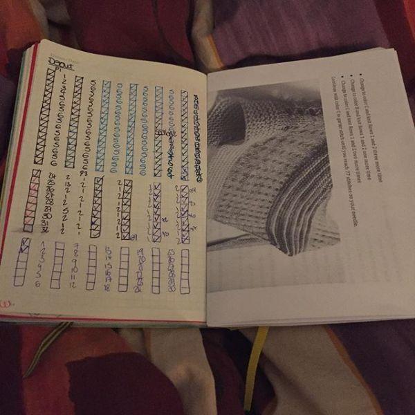 Bullet Journal Knitting