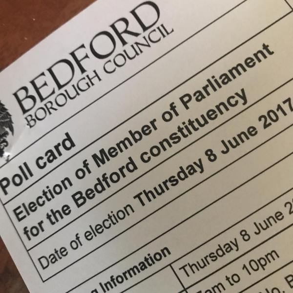 Having breakfast then off to do this. #vote #ge2017 #generalelection #bedford #bedfordshire