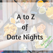A to Z of Date Nights: D is for Dominos, Deadman's Cross and Dessert Island
