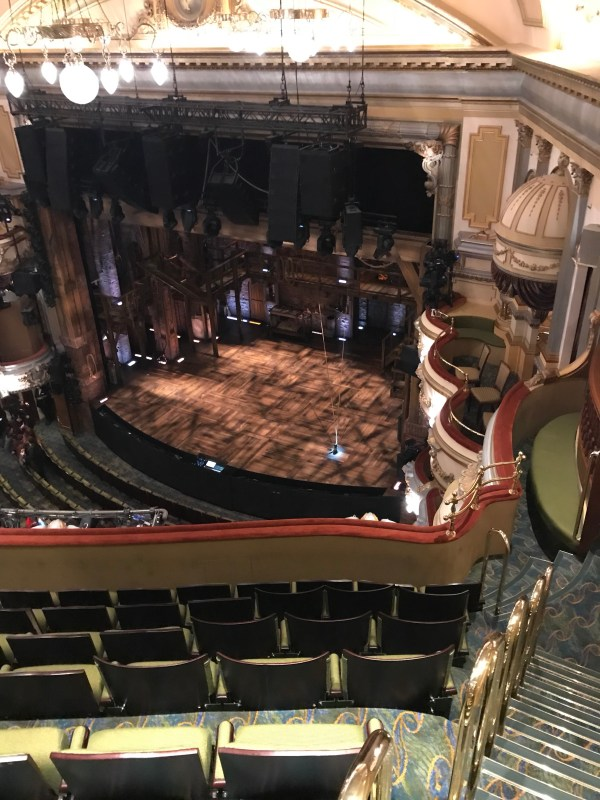 View from the Auditorium Doorway at Hamilton West End