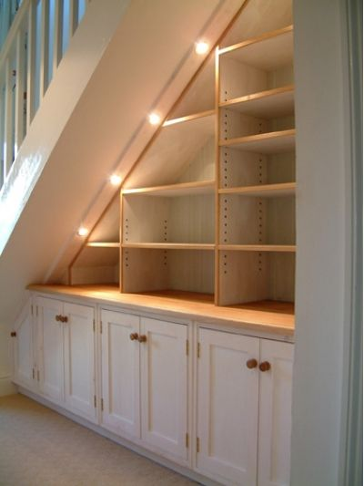 How clever is this storage option for under the stairs?