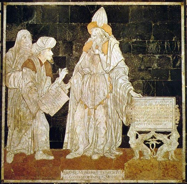 Hermes Trismegistus in the Cathedral of Siena