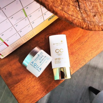Aqua Whitening Cream and Gold Nano CC Cream