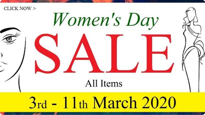 Women Day Sales Banner 2020