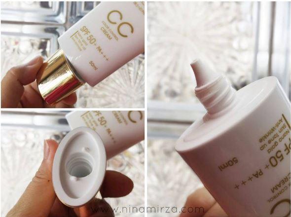 Cara Pakai CC Cream Suncreen Yang Ada SPF Dan Tidak Berminyak 2