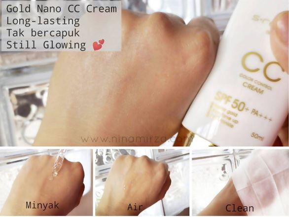Fungsi CC Cream Suncreen Yang Ada SPF Dan Tidak Berminyak