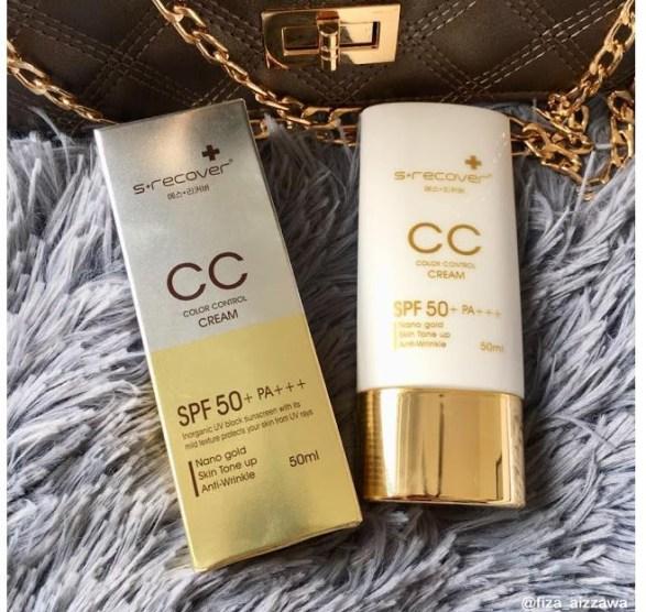 Cara pakai dan Fungsi Gold Nano CC Cream 3