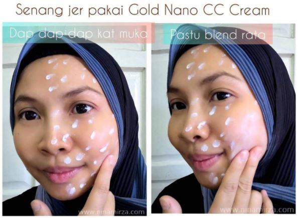 Senang jer pakai Gold Nano CC Cream