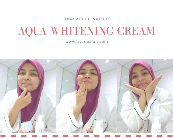 Aqua Whitening Cream 2
