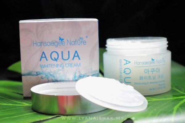 Fungsi Aqua Whitening Cream