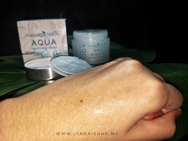 Texture Aqua Whitening Cream 2