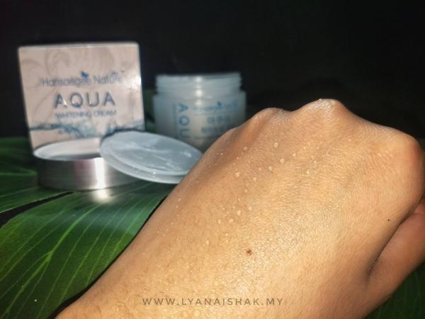 titisan Air Aqua whitening Cream