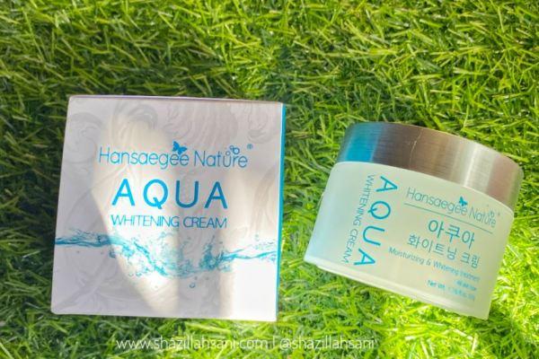Aqua whitening cream 1