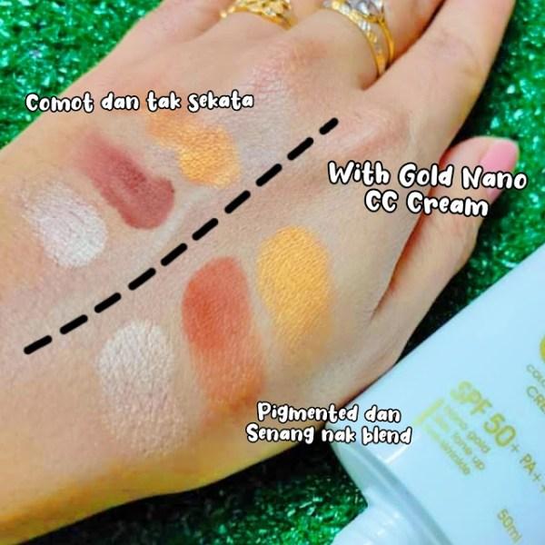 makeup eyeshadow nampak lagi pigmented