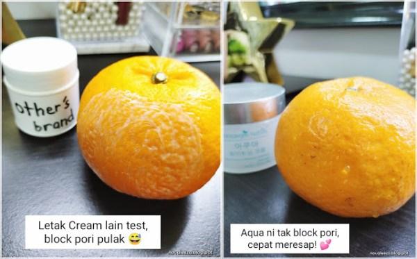 testing orange pelembap