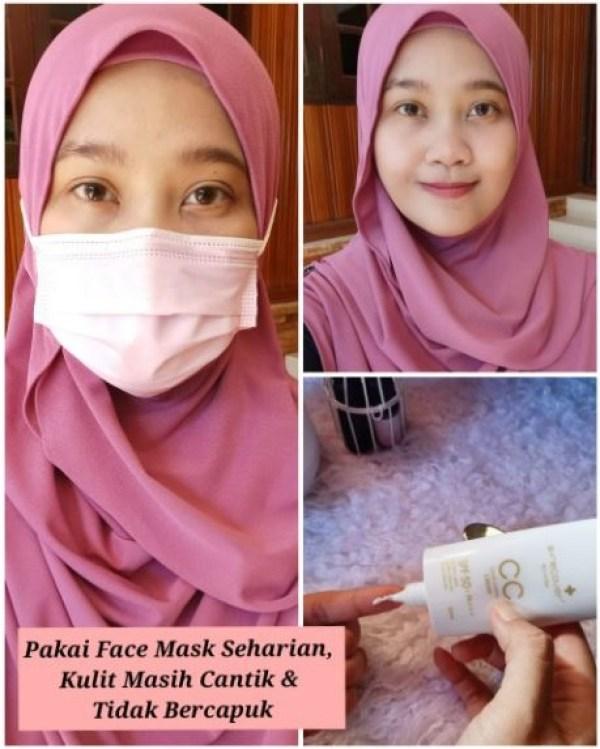 pemakaian face mask seharian