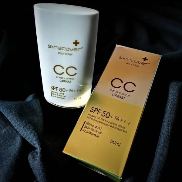 gold nano CC Cream packaging