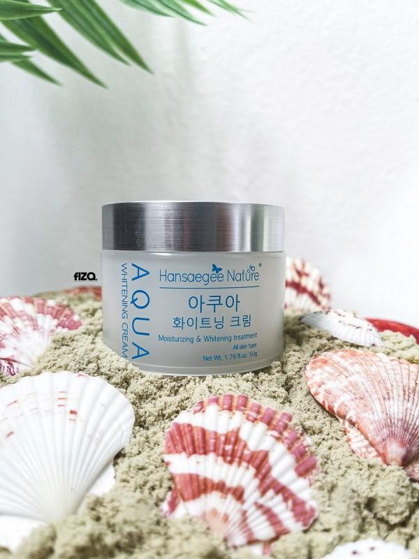 hansaegee nature aqua whitening cream moisturizer