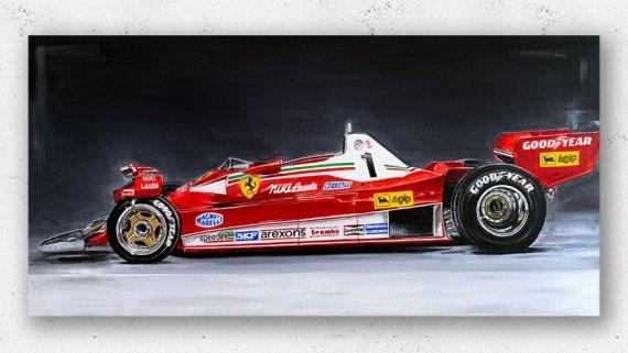 Niki-Lauda Ferrari 312T2 F1 1976