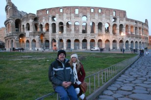 & at the colosseum