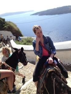 donkey ride! :)