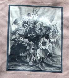 Sonnenblumen I, Haimhausen, 51/66 cm, 1920