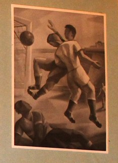 Fussball, 90/120 cm, 1956