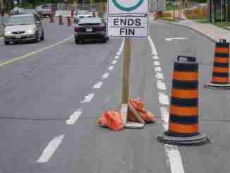Bike Sign Ottawa