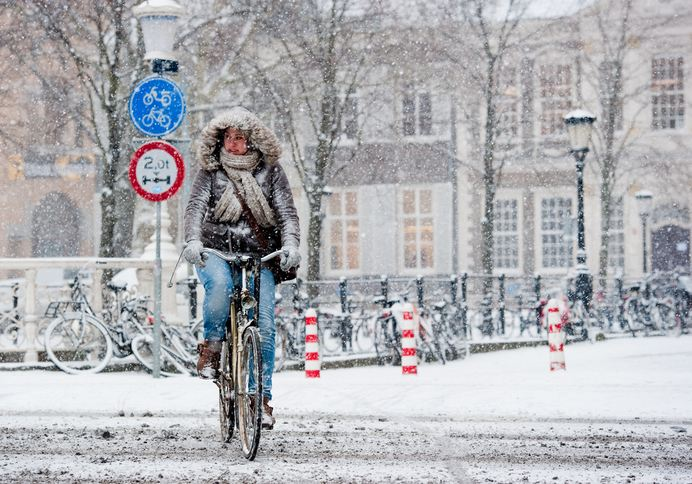 winter cycling – Utrecht – Chris Heijmans
