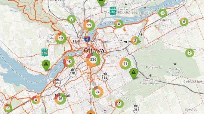 Screenshot BikeMaps.org