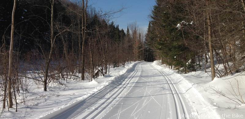 an abundance of well groomed trails in Gatineau Park