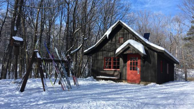 Shilly-Shally cabin in Gatineau Park