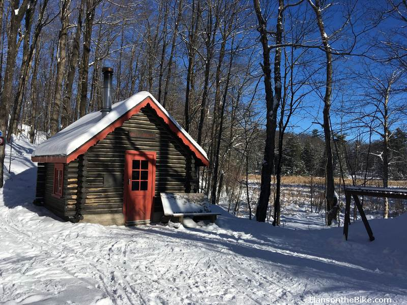 Shilly Shelly Cabin in Gatineau Park